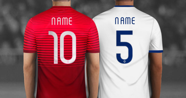 Create Your Player With Portugal Soccer Jersey With Your Name