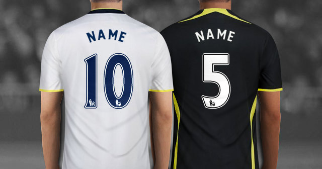 Create Your Own Personalized Tottenham Hotspur Soccer