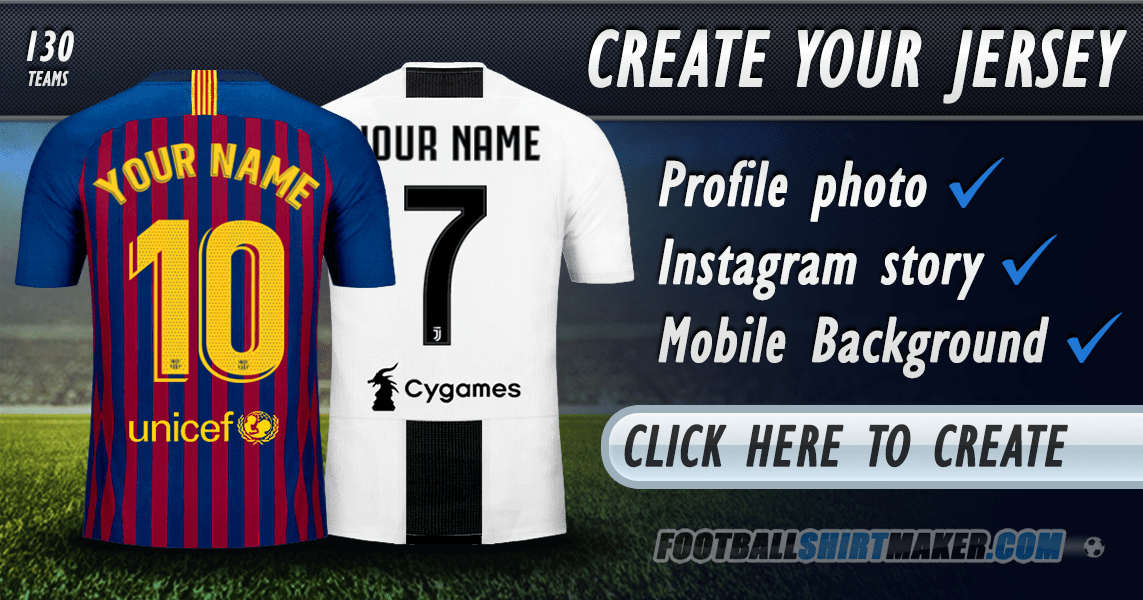 0711f8a22 Create your soccer jersey. Football jersey maker.