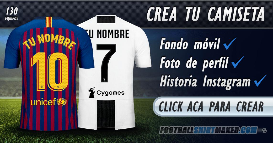 04eb2ec1c2e15 Crear camisetas de fútbol con tu Nombre.
