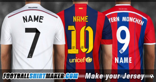 Football Jersey Maker Website