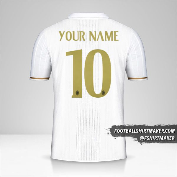 AC Milan 2016/17 II jersey number 10 your name