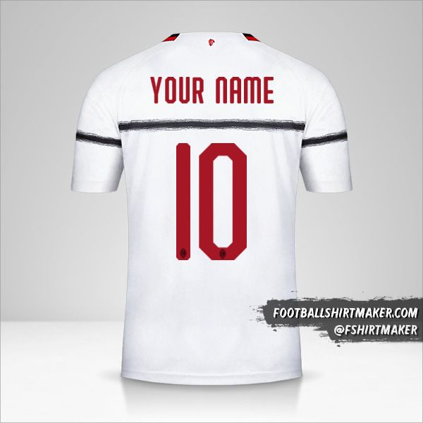 AC Milan 2018/19 II jersey number 10 your name