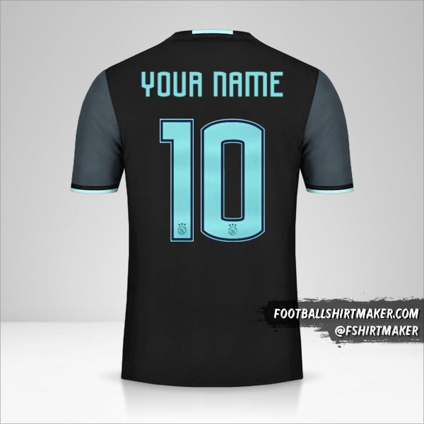 AFC Ajax 2016/17 II jersey number 10 your name