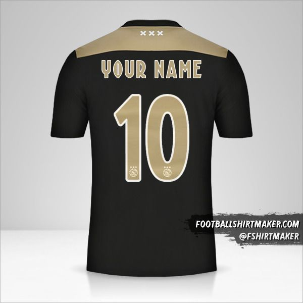 AFC Ajax 2018/19 II jersey number 10 your name
