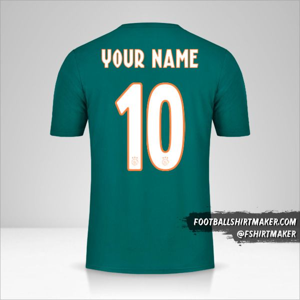 AFC Ajax 2019/20 II jersey number 10 your name