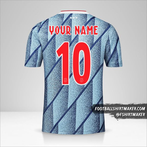 AFC Ajax 2020/21 II jersey number 10 your name
