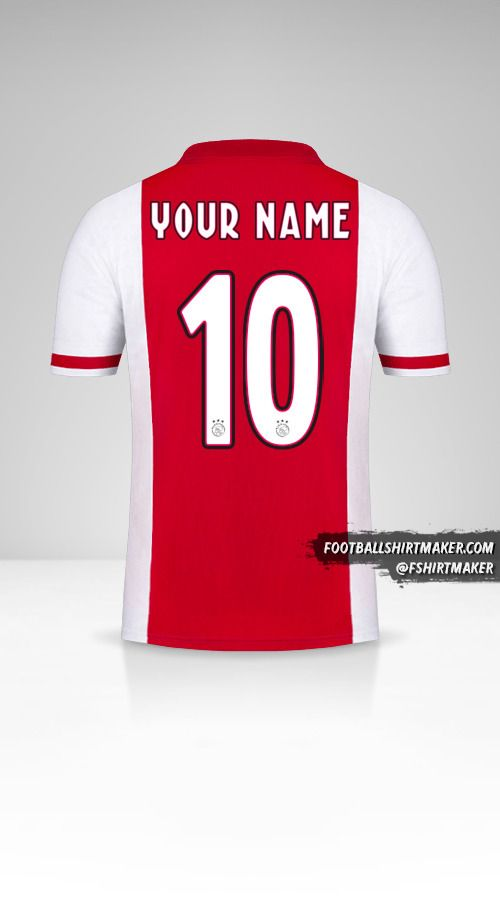 AFC Ajax 2020/21 jersey number 10 your name