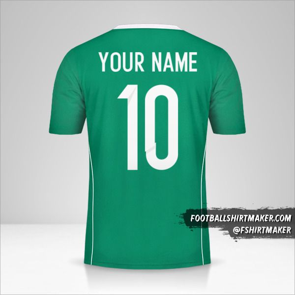 Algeria 2015 II jersey number 10 your name