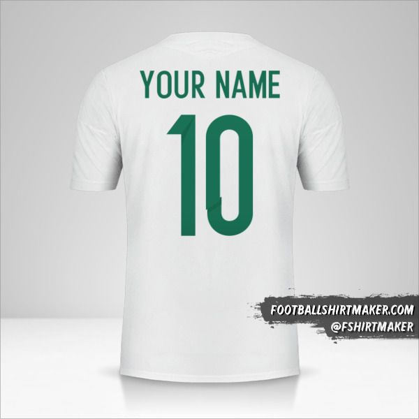 Algeria 2015 jersey number 10 your name
