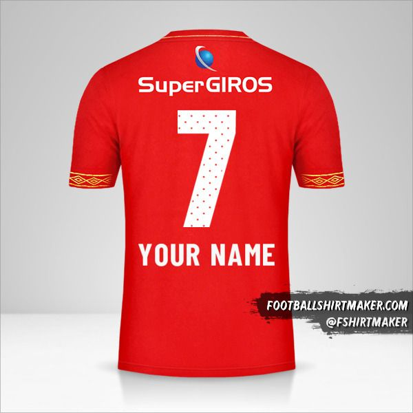 America de Cali jersey 2019 number 7 your name