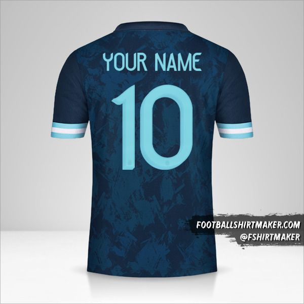 Argentina 2020/21 II jersey number 10 your name