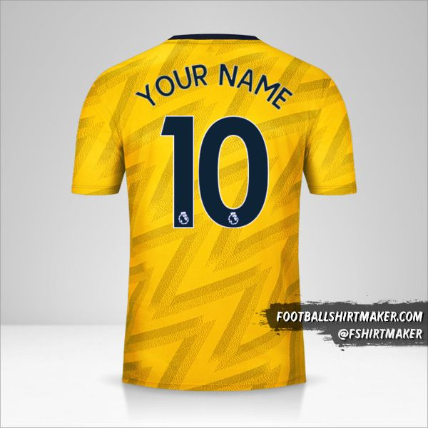 Arsenal 2019/20 II jersey number 10 your name