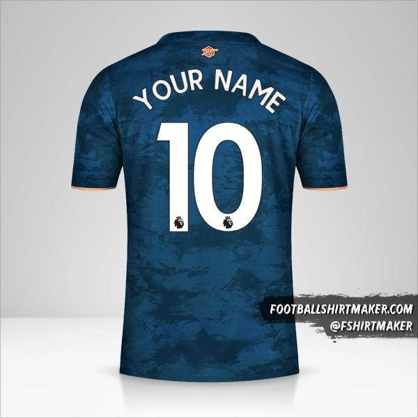 Arsenal 2020/21 III jersey number 10 your name