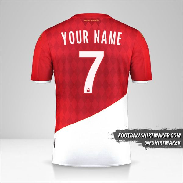 As Monaco jersey 2019/20 number 7 your name