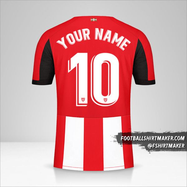 Athletic Bilbao 2019/20 jersey number 10 your name