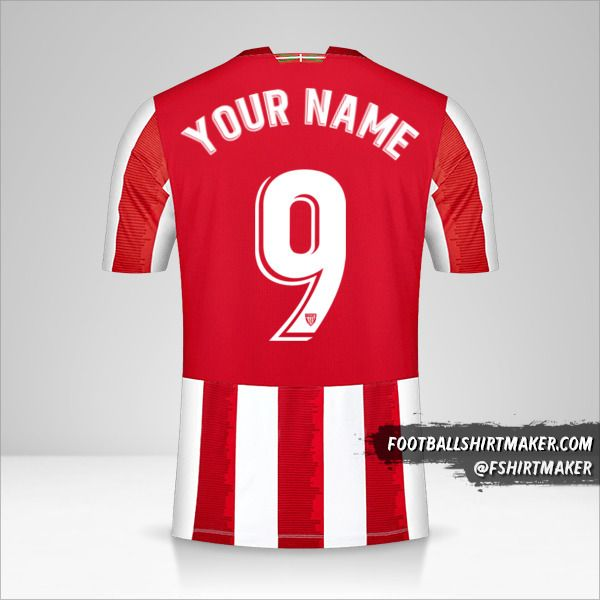 Athletic Bilbao 2020/21 jersey number 9 your name