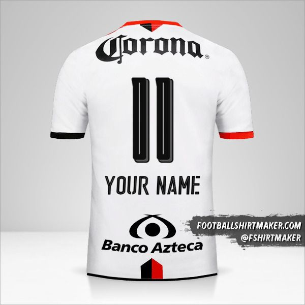 Atlas 2016/17 II jersey number 11 your name