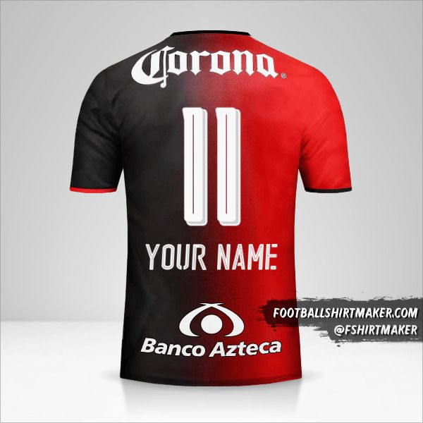 Atlas 2016/17 jersey number 11 your name