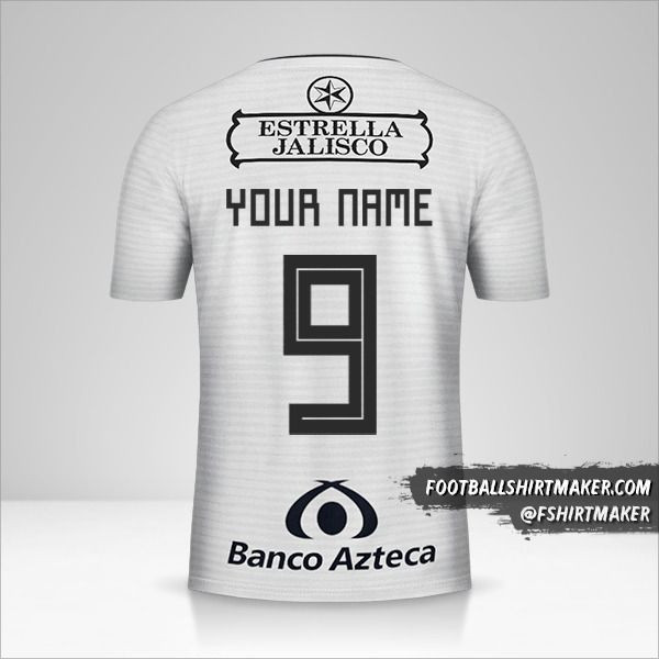 Atlas 2018/19 II jersey number 9 your name