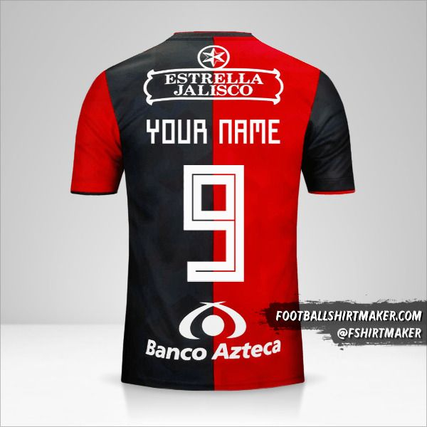 Atlas 2018/19 jersey number 9 your name