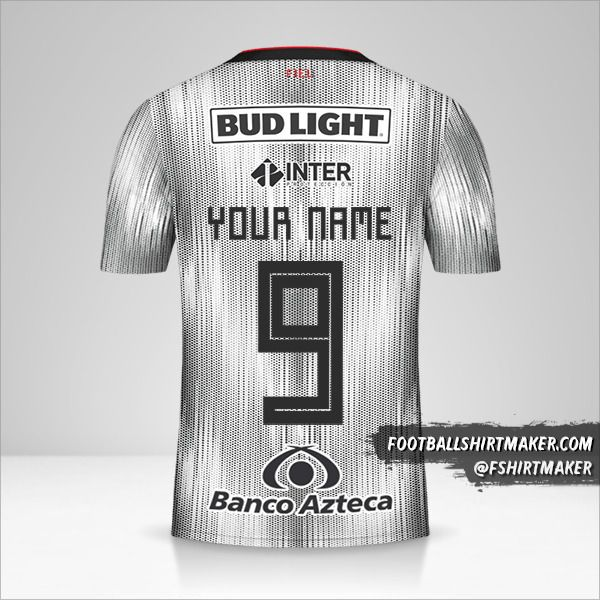 Atlas 2019/20 II jersey number 9 your name