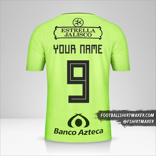 Atlas 2019 III jersey number 9 your name