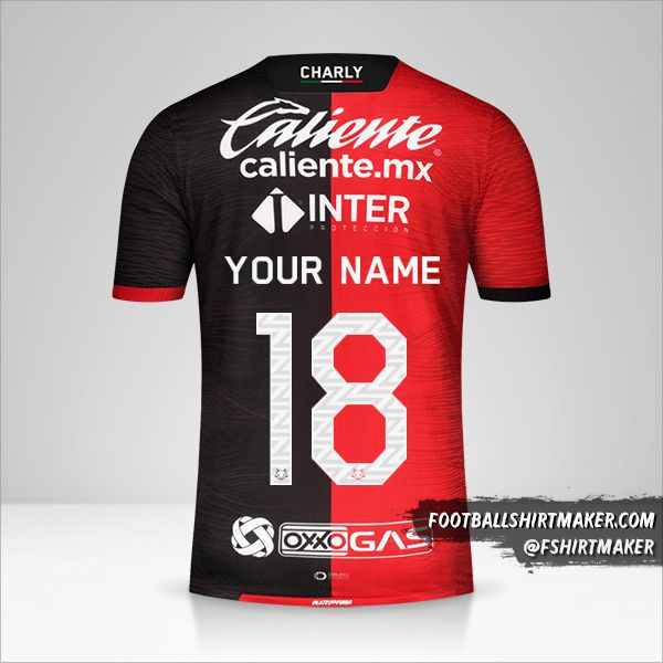Atlas 2020/21 jersey number 18 your name
