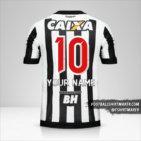 Atletico Mineiro 2017 jersey number 10 your name