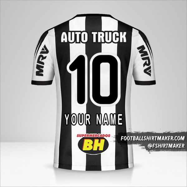 Atletico Mineiro 2019 jersey number 10 your name
