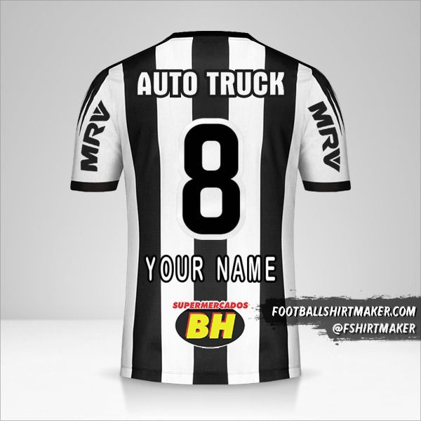 Atletico Mineiro jersey 2019 number 8 your name