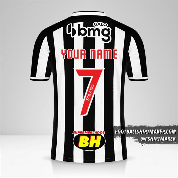 Atletico Mineiro 2021 jersey number 7 your name