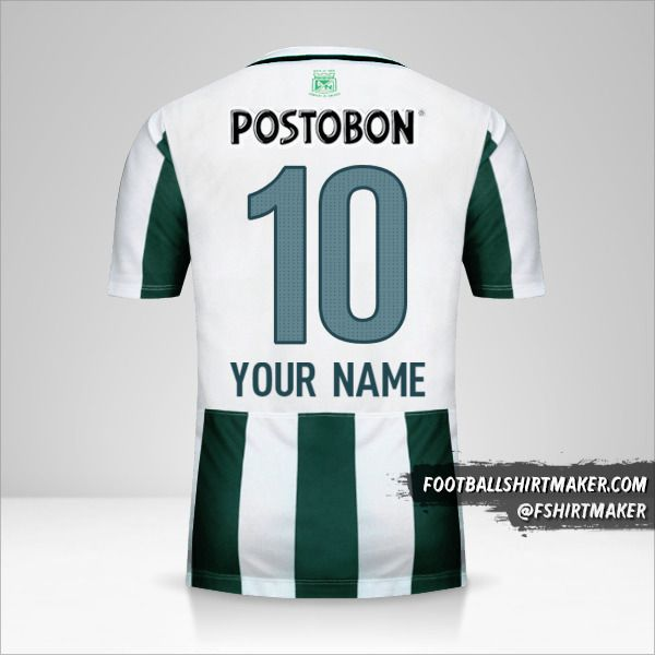 Atletico Nacional 2015 jersey number 10 your name