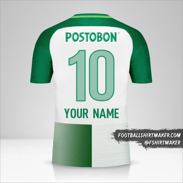 Atletico Nacional 2017 jersey number 10 your name