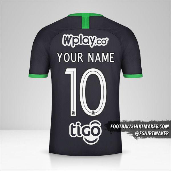 Atletico Nacional 2020 III jersey number 10 your name
