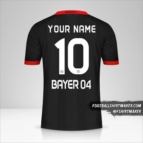 Bayer 04 Leverkusen 2020/21 jersey number 10 your name