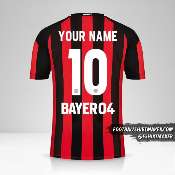 Bayer 04 Leverkusen 2021/2022 jersey number 10 your name