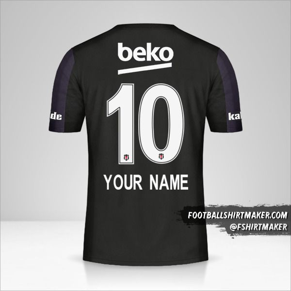 Besiktas JK 2018/19 II jersey number 10 your name