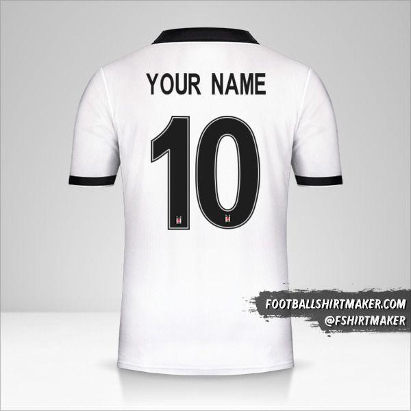 Besiktas JK 2018/19 Cup jersey number 10 your name