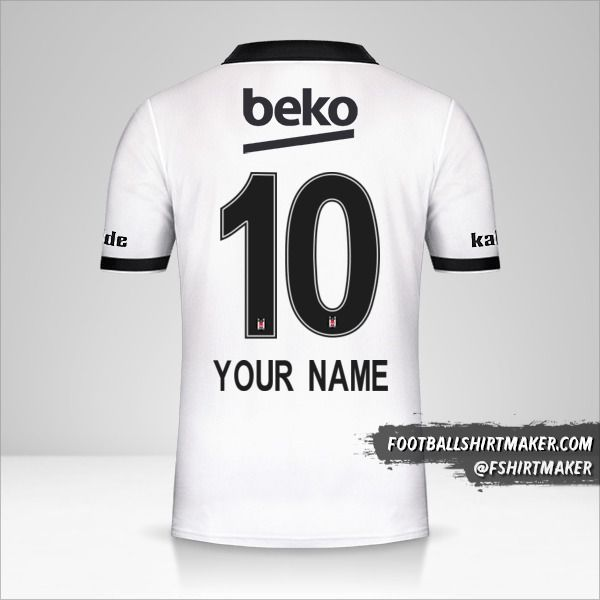 Besiktas JK 2018/19 jersey number 10 your name