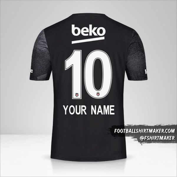 Besiktas JK 2019/20 II jersey number 10 your name