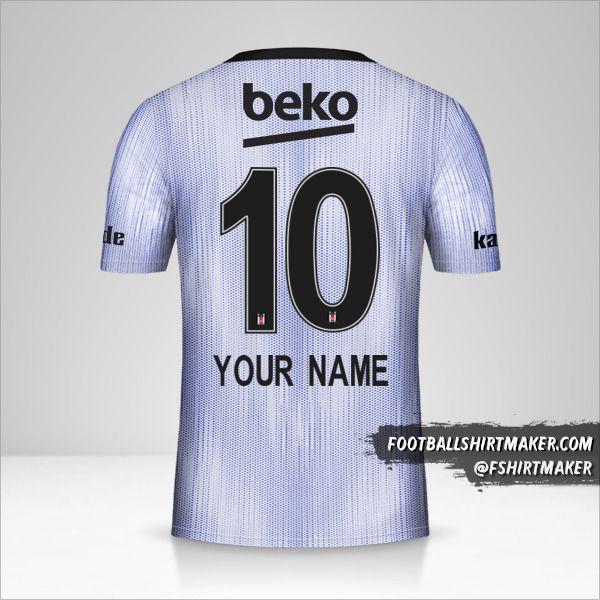 Besiktas JK 2019/20 III jersey number 10 your name