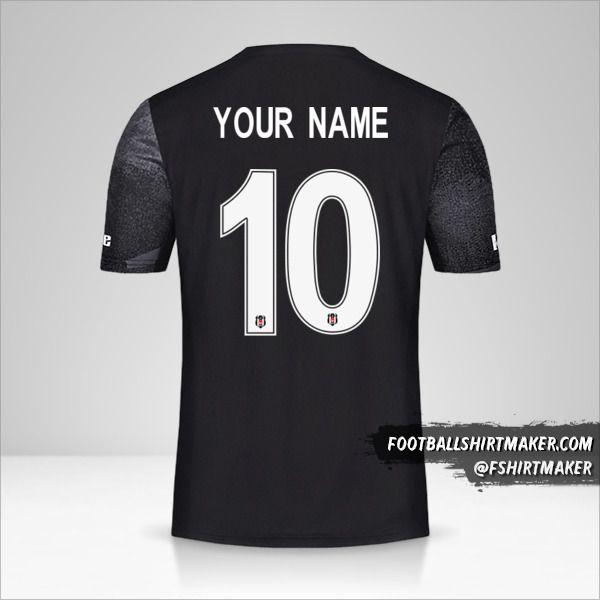 Besiktas JK 2019/20 Cup II jersey number 10 your name