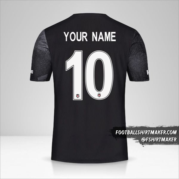 Besiktas JK 2019/20 Cup II jersey number 10 your name