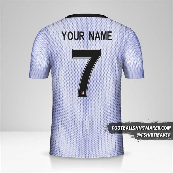 Besiktas JK jersey 2019/20 Cup III number 7 your name
