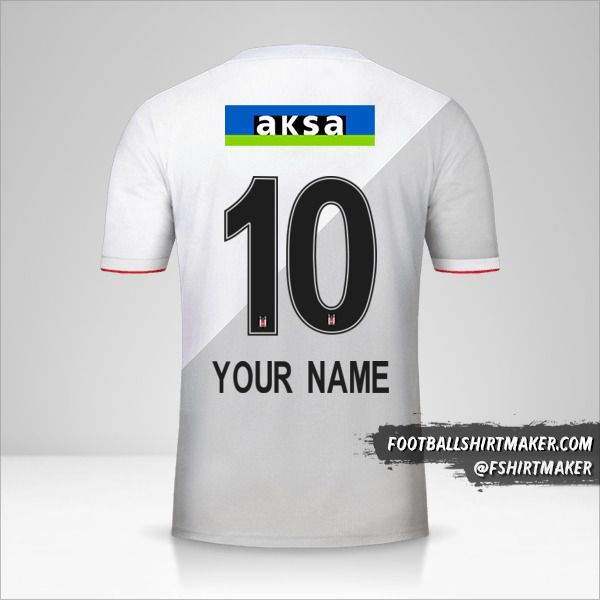 Besiktas JK 2020/21 jersey number 10 your name
