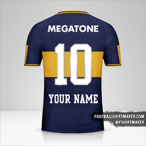 Boca Juniors 2006/07 jersey number 10 your name