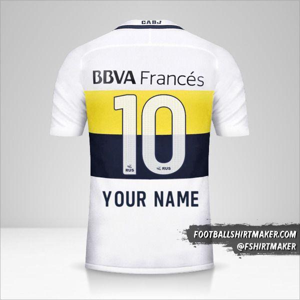 Boca Juniors 2016/17 II jersey number 10 your name