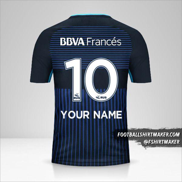 Boca Juniors 2017/18 III jersey number 10 your name
