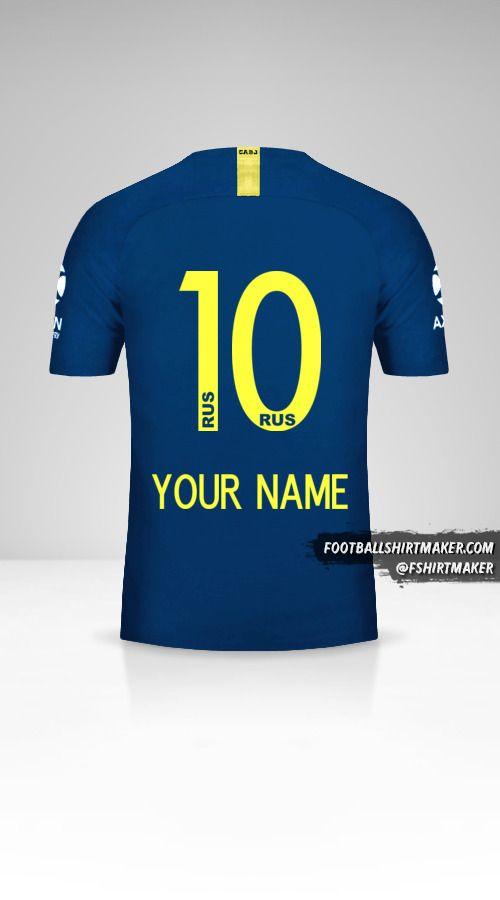 Boca Juniors 2018/19 jersey number 10 your name